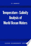 Temperature Salinity Analysis of World Ocean Waters