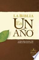 La Biblia en un Ano-Rvr 1960