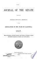 The Journal Of The Senate During The Session Of The Legislature Of The State Of California