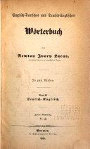 Englisch-Deutsches und Deutsch-Englisches Wörterbuch0