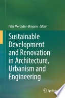 Sustainable Development and Renovation in Architecture, Urbanism and Engineering