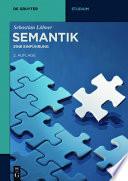 Semantik  : Eine Einführung