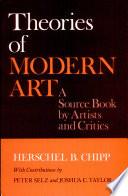 Theories of Modern Art Book