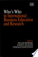 Who's who in International Business Education and Research