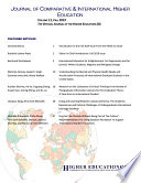 Journal of Comparative   International Higher Education  2019 Vol  11  Spring