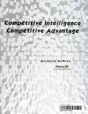 Competitive Intelligence, Competitive Advantage