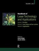 Handbook of Laser Technology and Applications  Three  Volume Set
