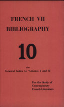French Vii Bibliography
