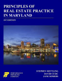 Principles of Real Estate Practice in Maryland: 1st Edition [Pdf/ePub] eBook