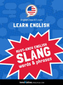 Learn English  Must Know American English Slang Words   Phrases
