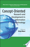 Concept Oriented Research and Development in Information Technology Book
