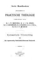Hoe men zich in de Nederlandsche Hervormde Kerk heeft te gedragen