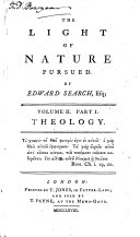 Pdf The Light of Nature Pursued: Theology