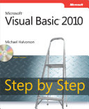 Cover of Microsoft Visual Basic 2010 Step by Step