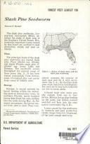 Slash Pine Seedworm Book PDF