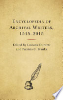 Encyclopedia of Archival Writers  1515   2015