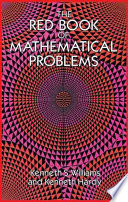 The Red Book Of Mathematical Problems Book PDF