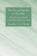 Pdf The Second Epistle to Timothy