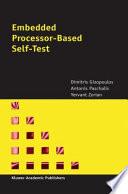 Embedded Processor Based Self Test Book