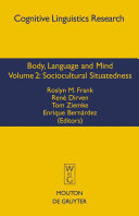 Pdf Body, Language, and Mind: Sociocultural situatedness