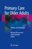 Primary Care for Older Adults Book