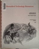 Biomedical Technology Resources 1998 Book PDF