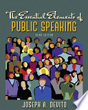Essential Elements of Public Speaking Value Package (Includes Myspeechlab with E-Book Student Access )