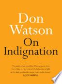 On Indignation Book