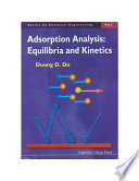Adsorption Analysis Equilibria And Kinetics With Cd Containing Computer Matlab Programs  Book PDF