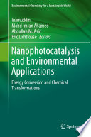 Nanophotocatalysis And Environmental Applications Book PDF