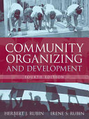 Cover of Community Organizing and Development