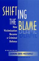 Shifting the Blame ebook