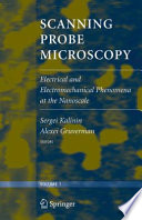 Scanning Probe Microscopy Book