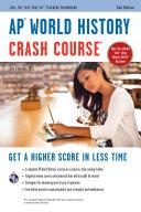 AP   World History Crash Course Book   Online