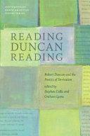 Reading Duncan Reading Pdf/ePub eBook