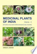 Medicinal Plants of India  Vol  3