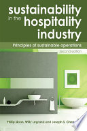 Sustainability in the Hospitality Industry 2nd Ed Book