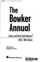 The Bowker Annual Book PDF