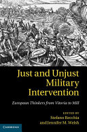 Just and Unjust Military Intervention
