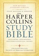 HarperCollins Study Bible [Pdf/ePub] eBook