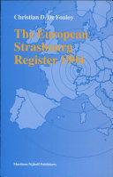 The European Strasbourg Register 1994