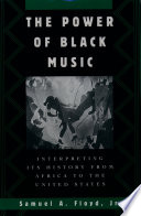 The Power of Black Music Book