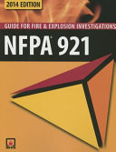 Cover of NFPA 921, Guide for Fire and Explosion Investigations