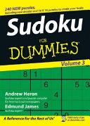 Sudoku For Dummies  Volume 3
