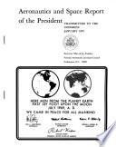 Aeronautics and Space Report of the President     Activities