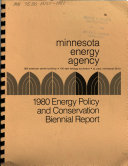1980 Energy Policy and Conservation Biennial Report