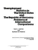 Unemployment Statistics in the United States and the Republic of Germany