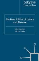 The New Politics of Leisure and Pleasure Pdf/ePub eBook