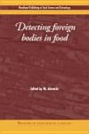 Pdf Detecting Foreign Bodies in Food
