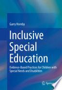 Inclusive Special Education Book